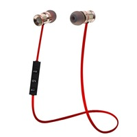 HUAST V4 1 Metal Wireless Bluetooth Headphone Sport Bluetooth Earphone Headset Noise Canceling Ear Phones Original
