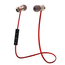 HUAST V4 1 Metal Wireless Bluetooth font b Headphone b font Sport Bluetooth Earphone Headset Noise