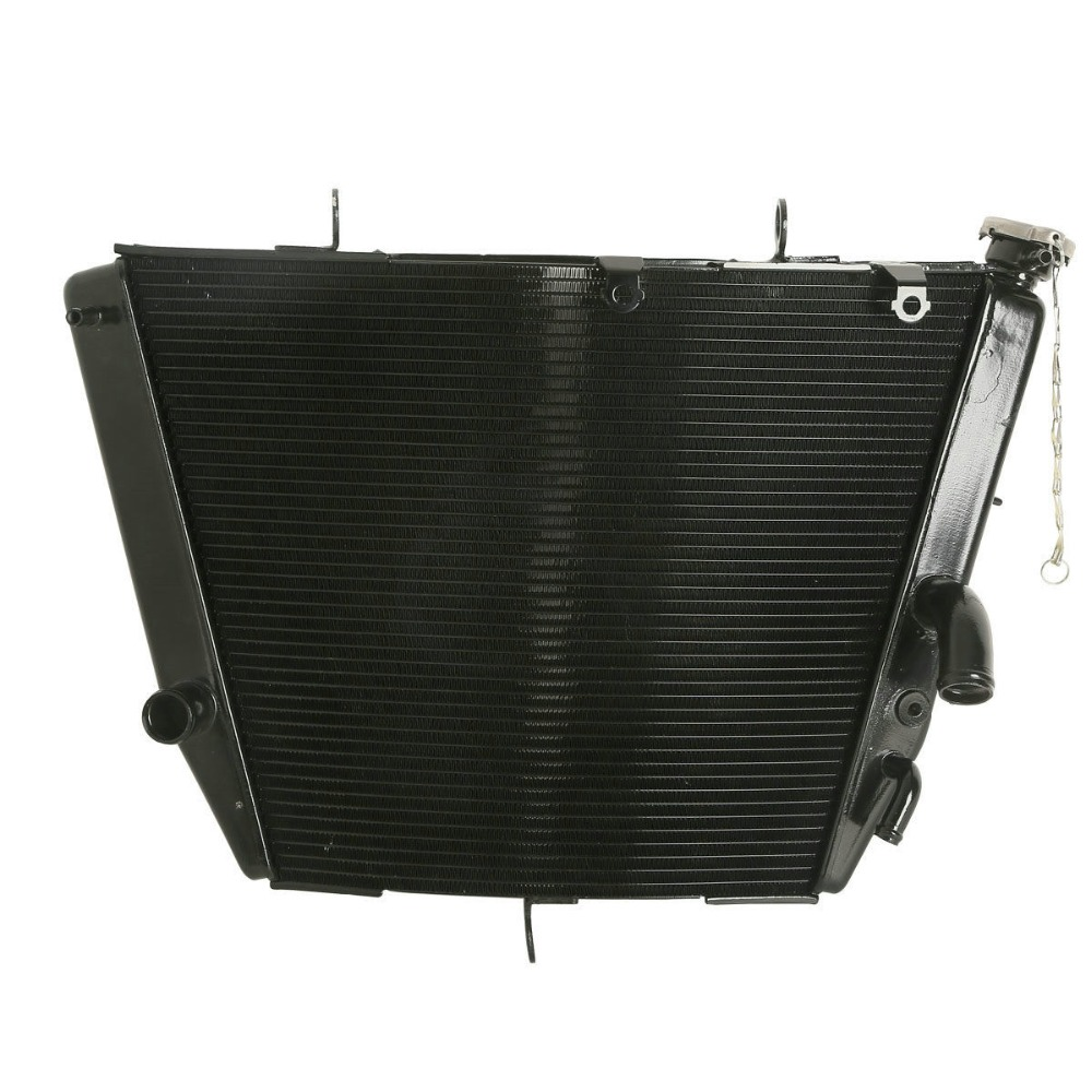 Motorcycle Aluminum Radiator Cooler For Suzuki GSXR <font><b>600</b></font> <font><b>GSX</b></font>-R 750 2006-2014 2007 <font><b>2008</b></font> image