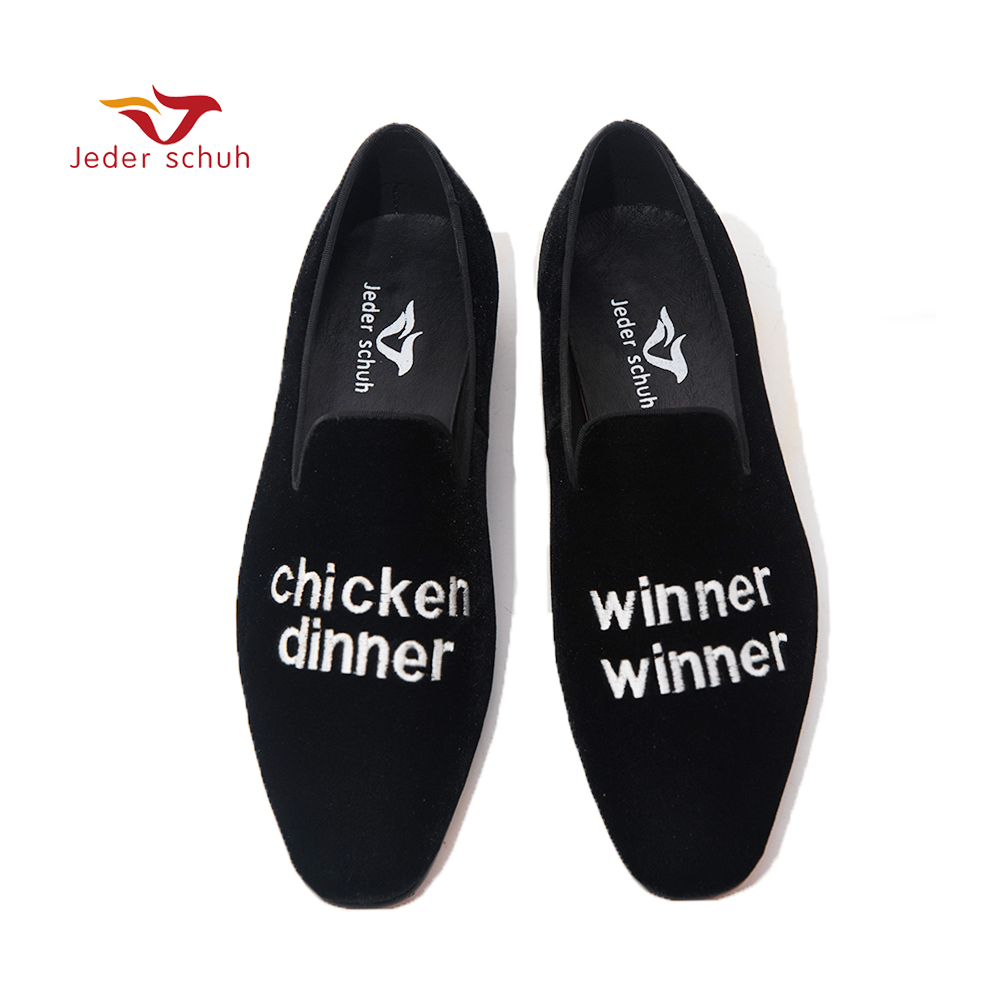 Jeder Schuh New Men casual Loafers Retro Men Shoes Italian Style Black Comfortable Male party shoes