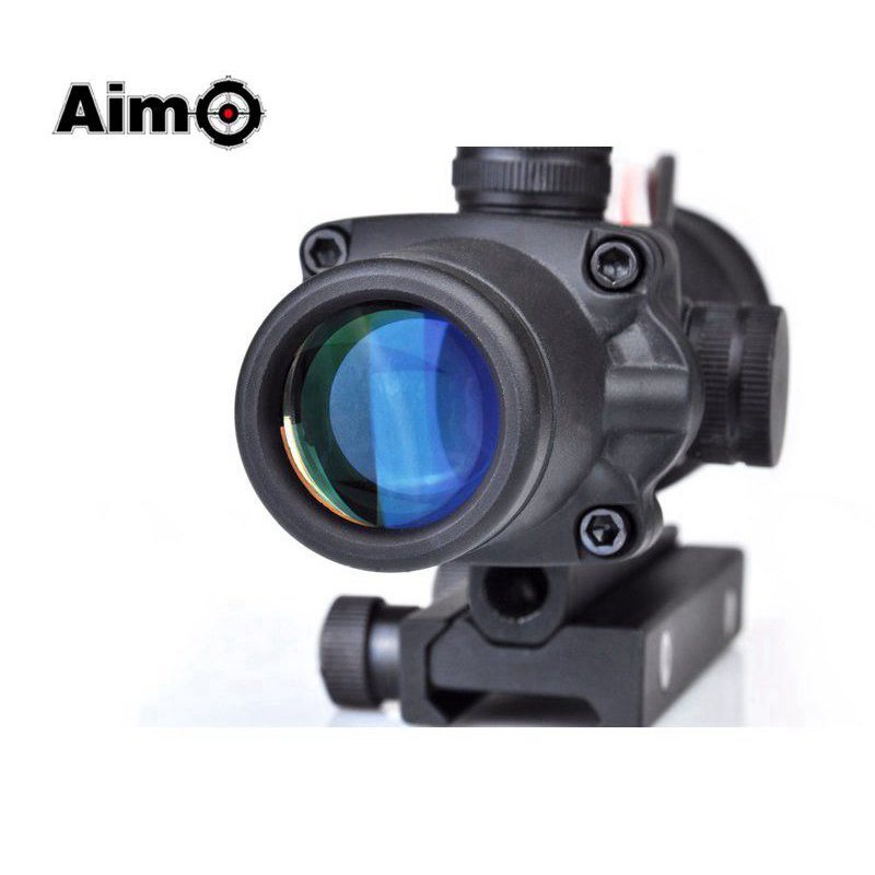 Aim O Reddot Optics Riflescope ACOG 4X32 Disguise Fiber Scope 20mm For Airsoft Gun AO1004 огниво ножемир o 4