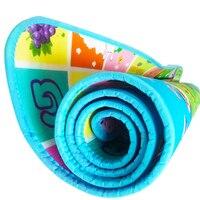 Dày Bé Bò Chơi Mats 1 cm Độ Dày Kids Rug Phát Triển Mat cho Trẻ Em Carpet Bé Thảm Đồ Chơi cho Trẻ Sơ Sinh Eva bọt