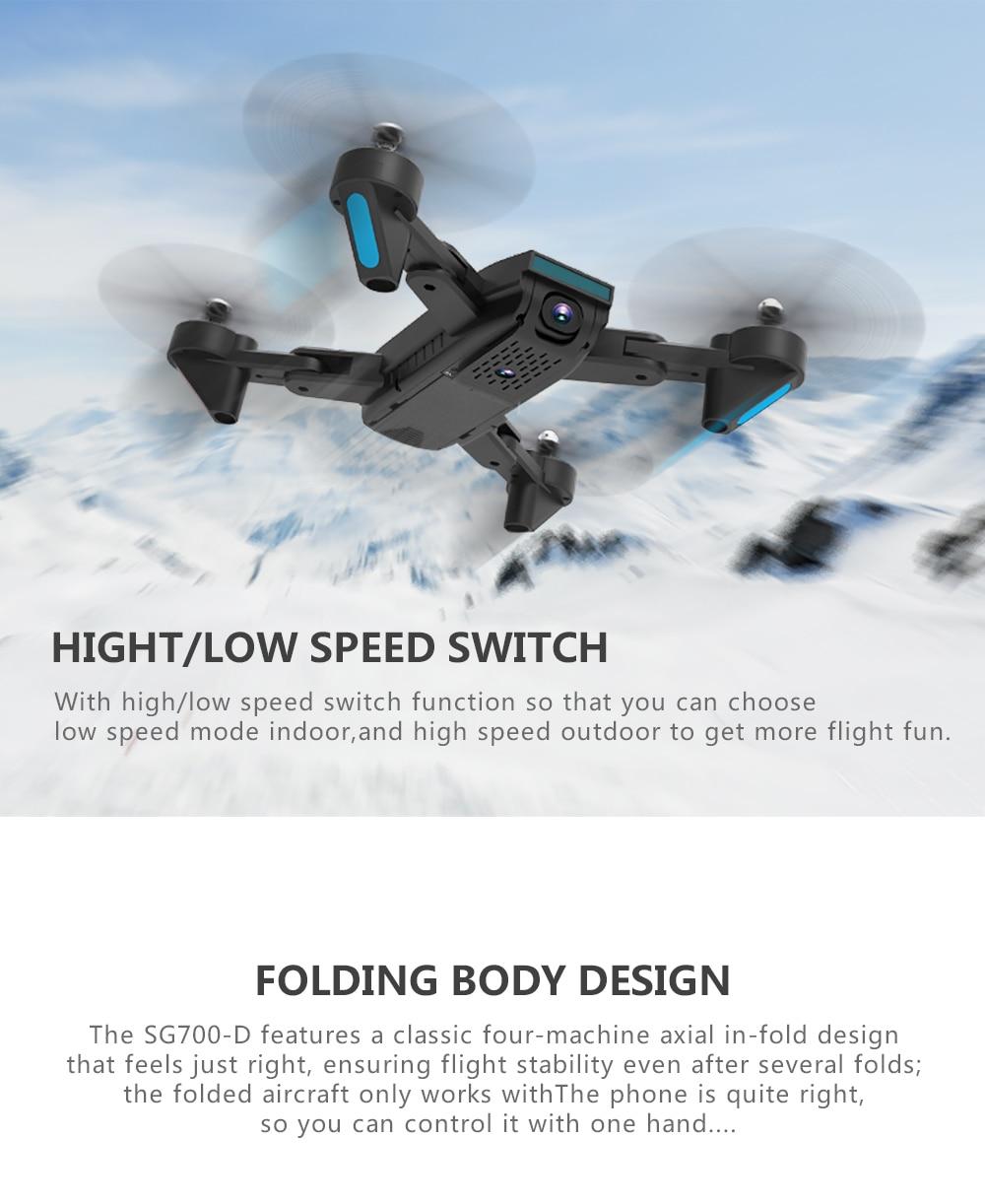 k hd grande angular câmera dobrável quadcopter