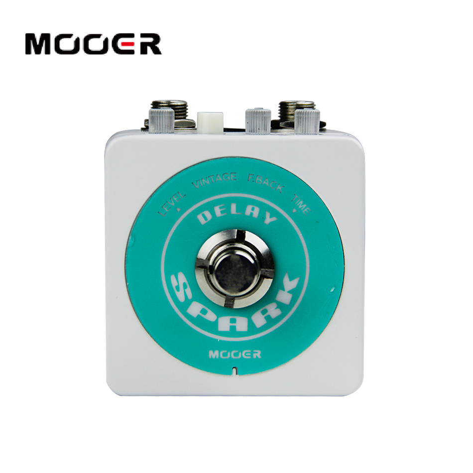MOOER Spark Series  SPARK DELAY Classic analog delay: Warm and smooth Guitar effect pedal mooer yellow comp classic optical compressing sound with smooth attack and decay further more guitr pedal effect pedal