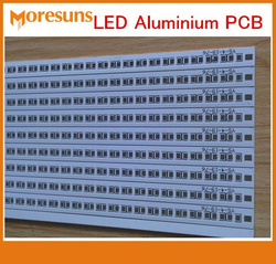 Gerber file Aluminum Based Printed Circuit Board LED Aluminum PCB board Assembly for LED Soldering LED PCBA