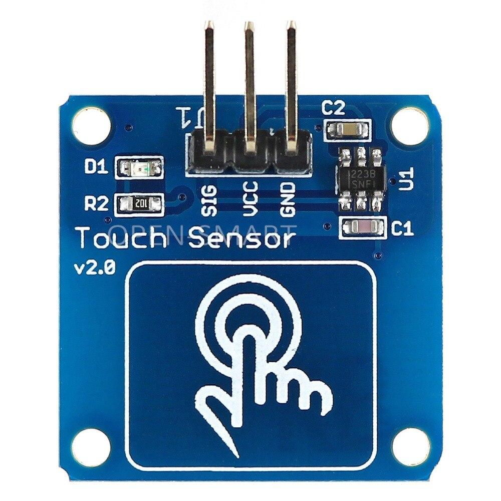 Touch Сенсор модуль сенсорный выключатель TTP223B цифровой емкостный Для Arduino сенсорный модуль увеличить фильтр схема более стабильной