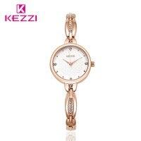 2016 New KEZZI Woman Top Brand Luxury Watches Alloy Bracelet Watch For Women Dress Quartz Watch