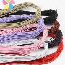 Lucia crafts 25 ярдов/пачка 0,8 мм бисер эластичный стрейч шнур бусины шнур веревка Бисер для браслета I0701