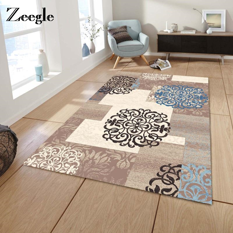 Zeegle Carpet Rugs For Living Room Kids Room Bedroom Home Textile Carpet Modern Decor Floor Rug Office Table Chair Mat
