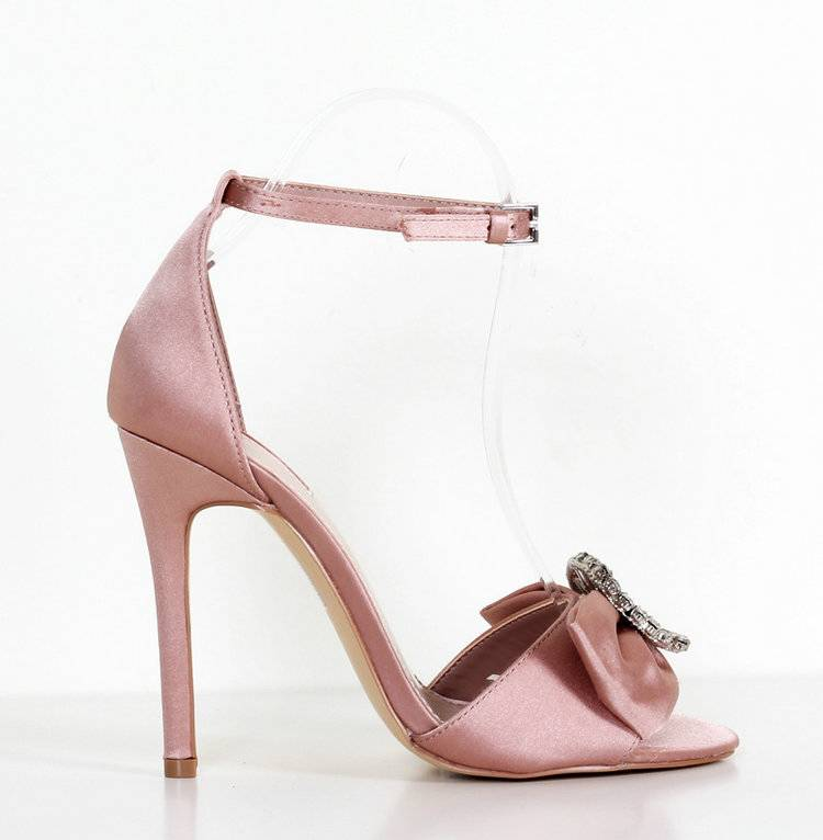Promotion pink shoes women summer Luxury brand high heels sandals crystal party shoes sweet butterfly-knot bride wedding shoes Promotion pink shoes women summer Luxury brand high heels sandals crystal party shoes sweet butterfly-knot bride wedding shoes