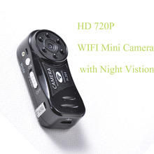 Mini Wireless Wifi Camera 720P HD IP Night Vision Hidden Spy Hoursing Security DV Micro Network Cam Digital Video Camcorder