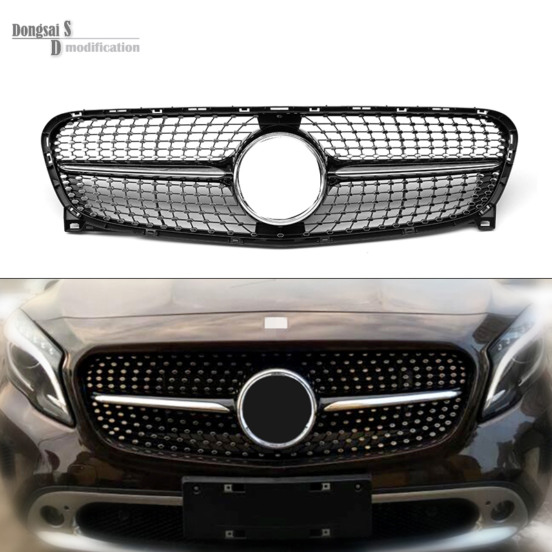 Buy replacement mercedes diamond grill for Mercedes benz grills