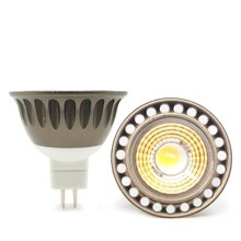 цена на LED MR16 3w COB dimmable spotlight  12V AC/DC 3W bulb  3000K/4000K/6000K warmwhite/nature white/daylight