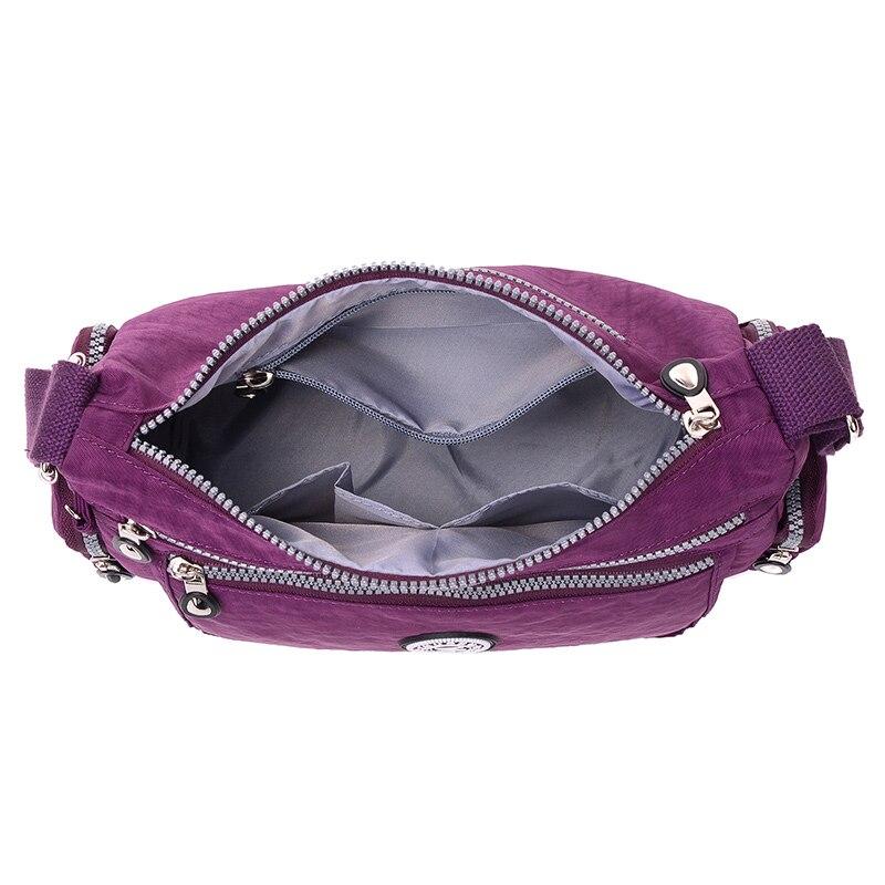 Neylon xanımın çiyin çantası Yaz üslubunda qadın elçi - Çantalar - Fotoqrafiya 4