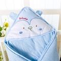 Swaddle Blanket newborn baby to sleep 100% Cotton  Cute Cartoon Boys Girls Sleeping Bag