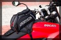 Genuine MENAT Black Oil Fuel Tank Bag Magnetic Motorcycle Motorbike back seat bag R1 CBR1000RR ZX 10R GSX R1000 MB 019
