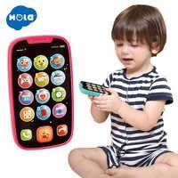 Apprentissage jouets éducatifs téléphone portable avec lumière/musique bébé enfant téléphone éducatif anglais apprentissage téléphone Mobile jouet cadeau de noël