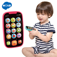 Learning Educational Toys Cellphone with Light/Music Baby Kid phone English Mobile Phone Toy Xmas Gift