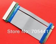 5pcs/lot  free shipping PCI riser card 32bits extender adapter flex cable