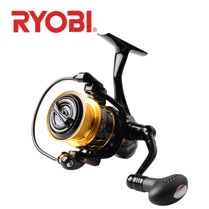 RYOBI MATURITY fishing reel spinning reel 2000 3000 4000 6000 8000 fishing reels spinning carretilha carrete