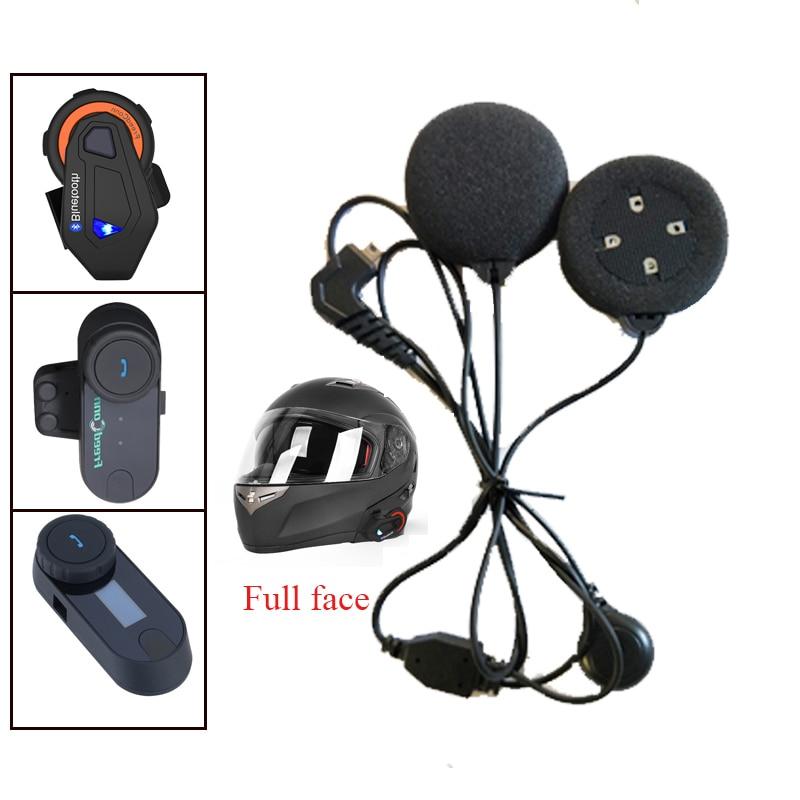 Motorcycle Intercom Accessories, Bluetooth Intercom Soft Earphone Earpiece & Mic For T-COMVB TCOM-SC COLO T-MAX KIE Moto Helmet