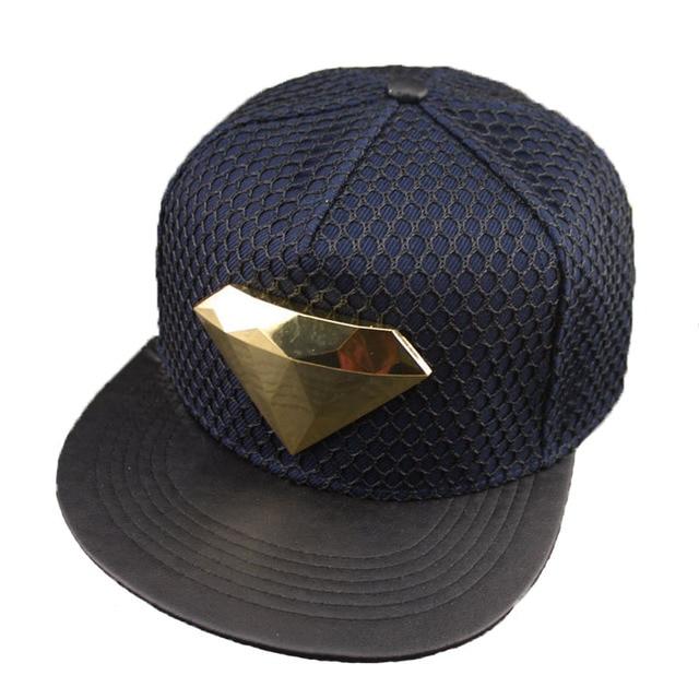 2016 New Snapback Cap Diamond Sport Adjustable Mesh Hotline Bling Hip Hop Hat for Men Women Baseball Caps
