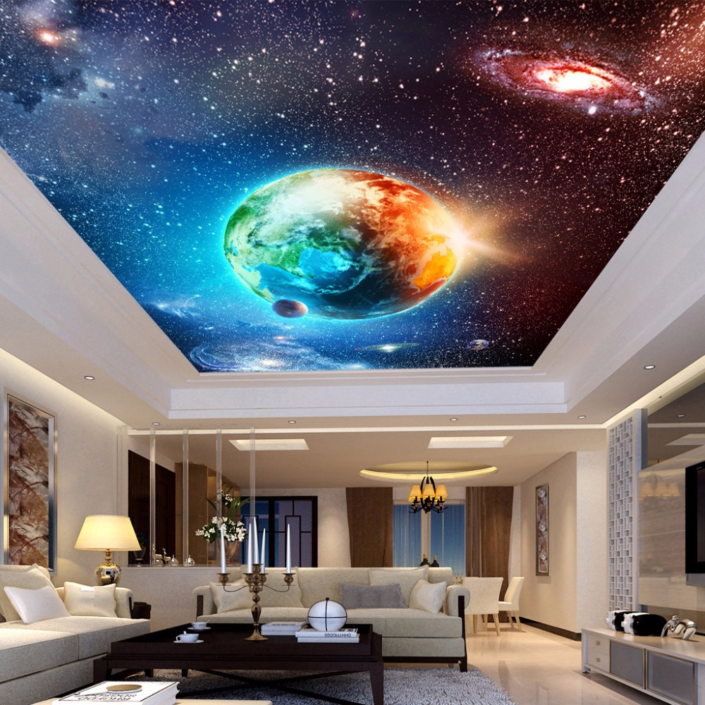 Online get cheap earth wall mural for Cheap wall mural wallpaper