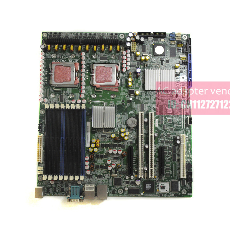 FOR Intel S5000VSA 771 dual-channel motherboard four SAS and two SATA hard drive interface 8 memory sockets ATX контроллер sas intel sas sata rms3cc080 932474 rms3cc080932474