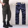 30-44 Плюс размер Высокое Качество мужские Брюки-Карго Повседневные Мужские брюки Мульти Карманные Военные Комбинезоны для Мужчин На Открытом Воздухе Длинные Брюки 6D