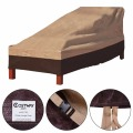 Waterproof Outdoor Patio Chaise Lounge Chair Furniture Cover Protection  HW51763