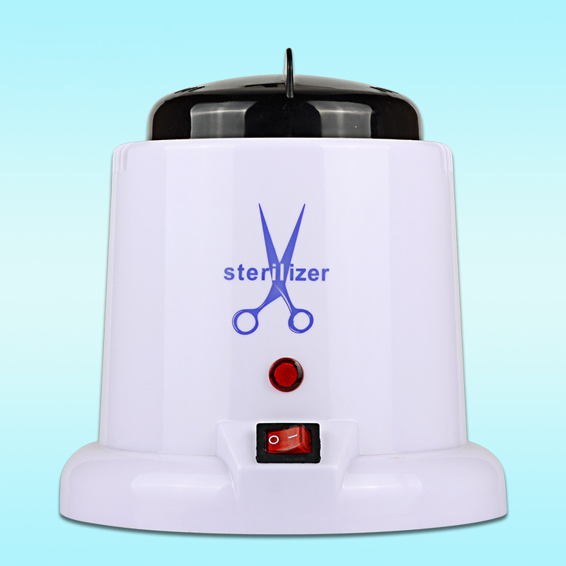 Portable Autoclave Sterilizer For Nails Salon Manicure Tools High Temperature UV Sterilization And Disinfection With Glass Ball portable dental autoclave sterilizer with replaceable tray high temperature sterilizer hot air disinfection with wooden holder