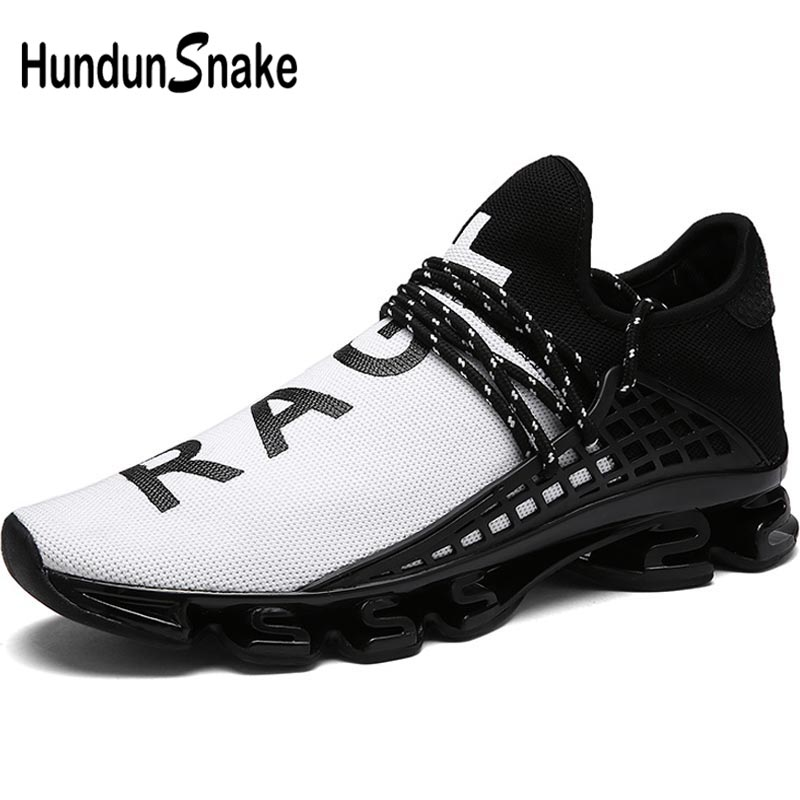 Hundunsnake Summer Woman Sport Sneakers Men Running Shoes Women Running Shoes Lady Sports Shoes Tennis Femme Outdoor White A-040