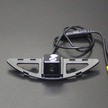 Tylna kamera samochodowa do Honda City 2012 ~ 2014 podgląd widoku z tyłu HD CCD RCA NTST PAL kamera cofania tanie i dobre opinie Liislee CN (pochodzenie) Plastikowe + Szkło Drutu Pojazd backup kamery Z tworzywa sztucznego Honda City 2012~2014