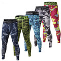 2017 New Mens Compression Crossfit Tights Men Bodybuilding Trousers Camouflage Joggers Flat Pants yeezy boost rush run Best