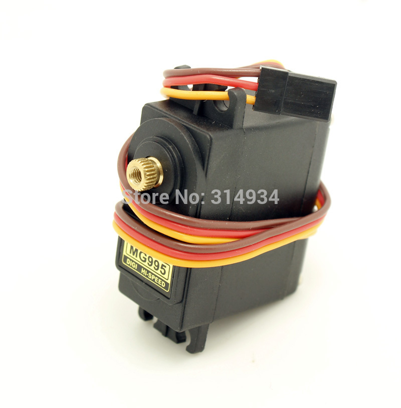 100pcs lot MG995 55g Pro Metal Gear Servo For Tower Rc Helicopter Plane Boat Car