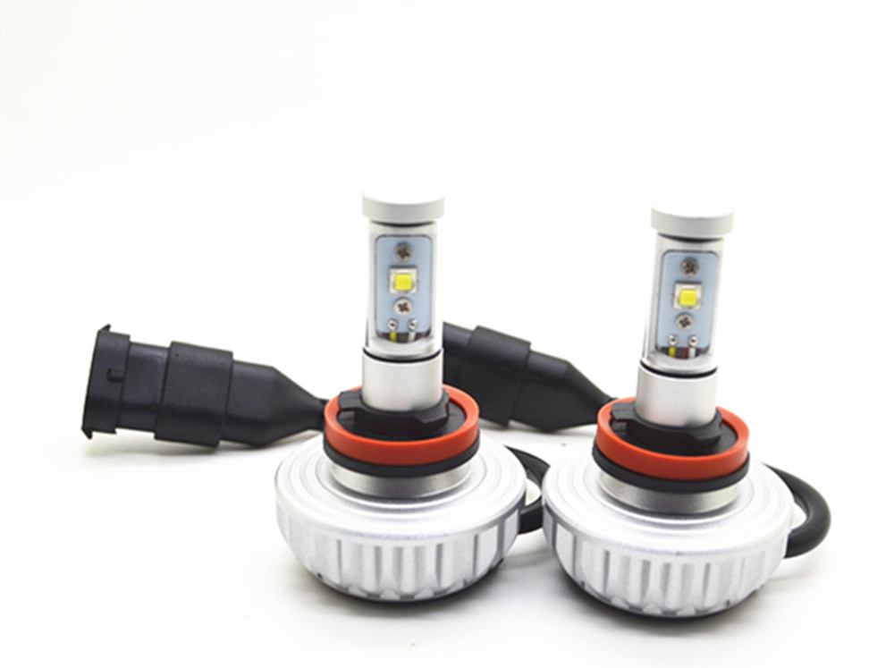 1Set 30W H8 H9 H11 CREE LED Headlight Headlamp Auto Conversion Car LED Kit 3000LM DRL Lamp Bulb Light Source DC12V-24V 2 pieces h7 cree chip led 40w replacement 7200lm car drl fog auto led headlight conversion driving bulb car light source