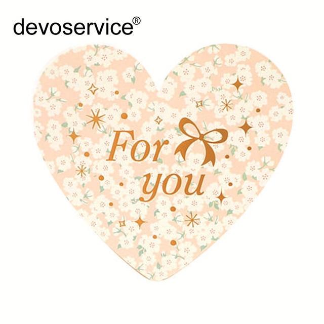 Aliexpress.com : Buy 6pcs Korea Love Heart Greeting Card Valentine ...