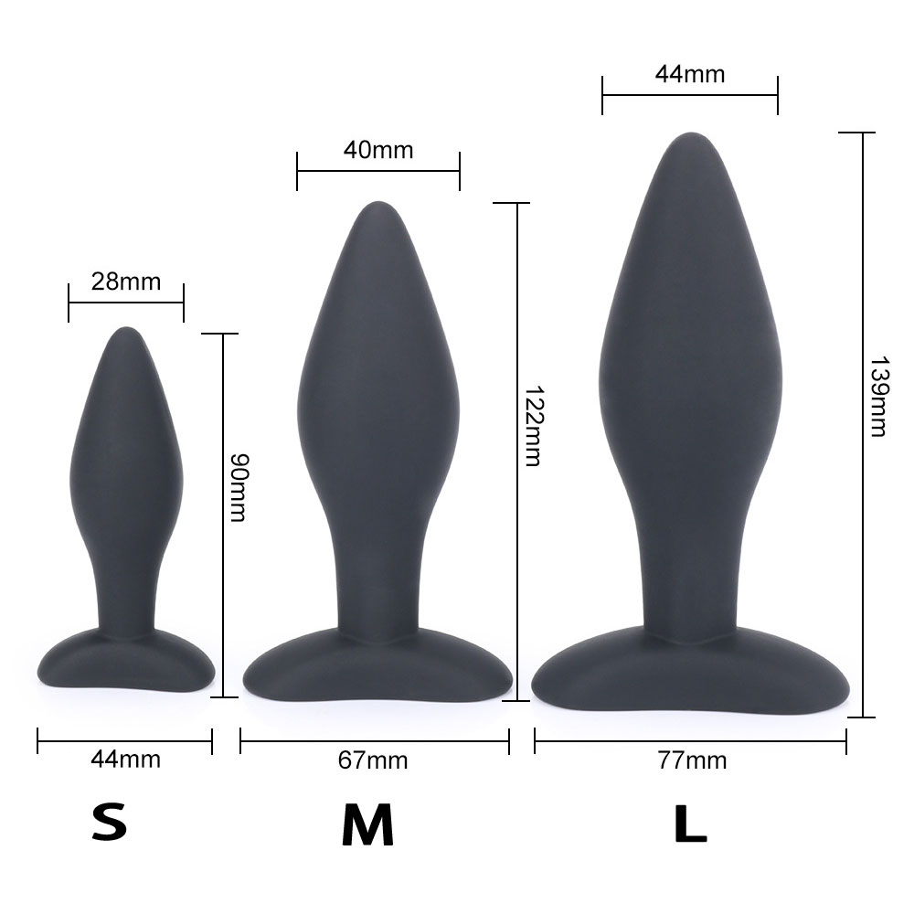 anal expander silicone butt plug anus dilator men women anal plugs buttplug sex toys for woman g spot stimulator sex products