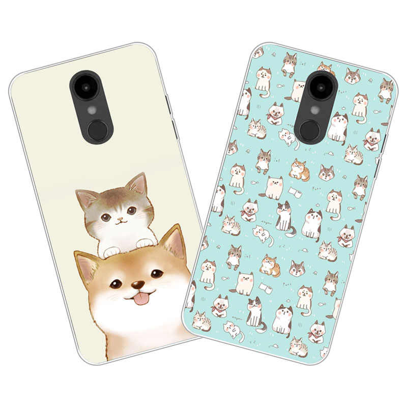 new styles 8aee6 4b1d1 Detail Feedback Questions about LG Aristo 2 Case,Silicon Cute cat ...