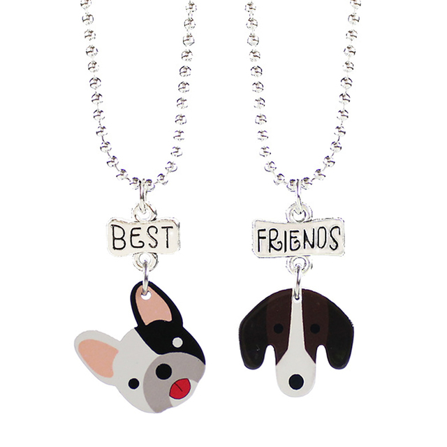 Creative Dog Patterned Pendants for Best Friends