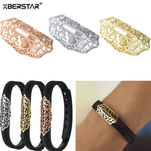 Fashion Bling Stainless Steel Decoration Accessory Charm for Fitbit FLEX 2 Fitness Tracker