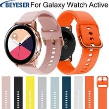 20mm silicone watchbands for Samsung Galaxy Watch Active bracelet smart sport strap galaxy watch 42mm