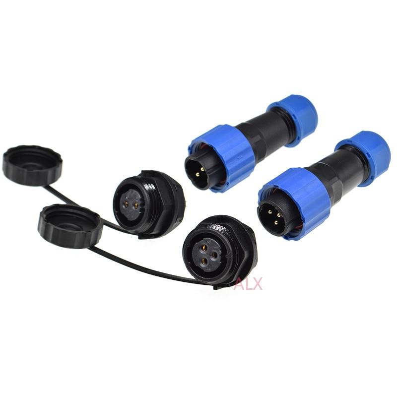 2x Waterproof 5.5mm*2.5mm DC Power Supply Female Jack Socket Panel/'Mount Con HK