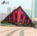 O Envio gratuito de Esportes Ao Ar Livre NOVO 265 cm Poder Trangle Pipa/Delta Kites Com Alça e Linha Bom Vôo Direto Da Fábrica venda
