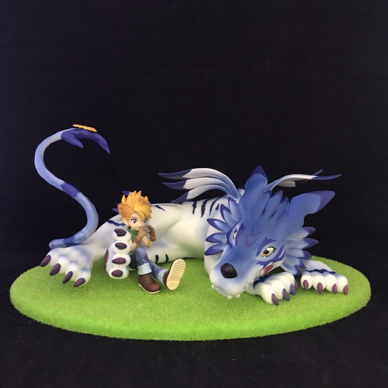 Free Shipping 5 MH Anime Digital Monster Garurumon & Ishida Yamato Boxed 13cm PVC Action Figure Collection Model Doll Toys Gift литой диск yamato hoshi y7218 6 5x16 5x108 d63 3 et52 5 mgmfp