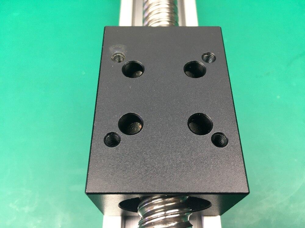 Haute précision course efficace 500mm vis à billes 1204 1605 1610 vis à billes Table coulissante + 1 pc nema 23 moteur pas à pas linéaire - 5