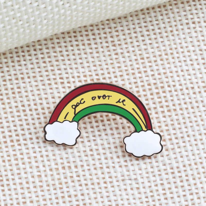 Plantio planta esmalte emblemas folha árvore bud montanha metal broche jóias para as mulheres crianças lapela pinos jaquetas jeans camisa broche