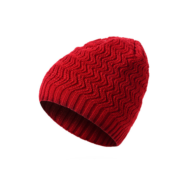 Wave Knit Hat Women Men 2017 Winter Hat For Man Skullies Beanies Warm Cap Man Beanie Hat Female Headgear Unisex Drop Shipping F3  2016 fashion skullies beanies women hat knit hat female cap man winter hat for women beanie unisex pure color headgear