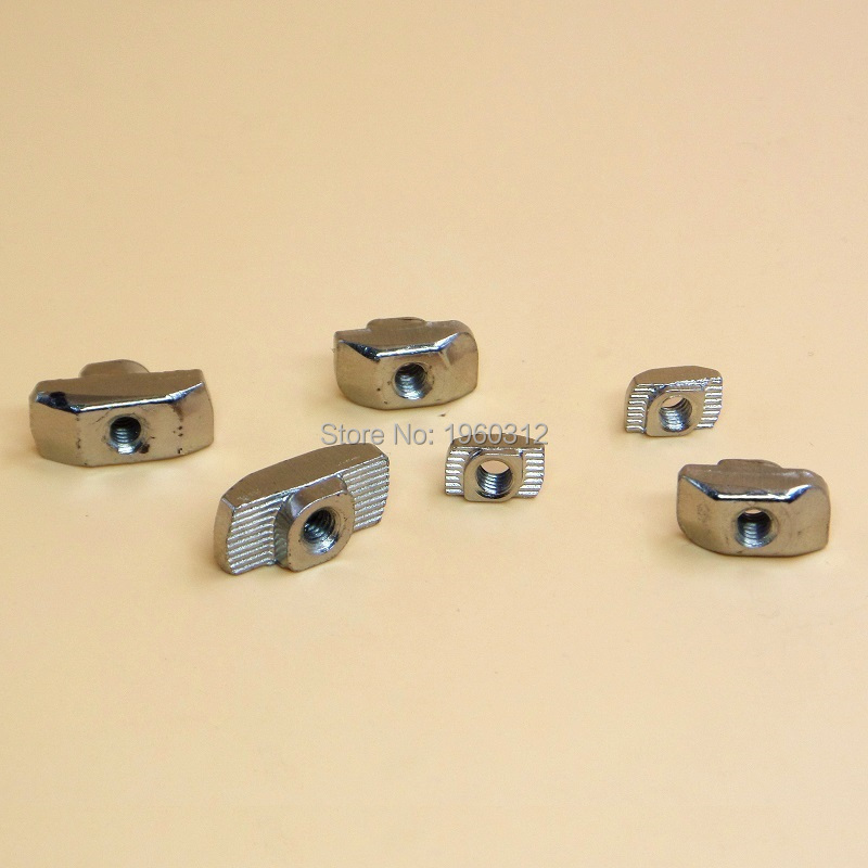 24c8c68c15de STAND 20 Series Carbon Steel Drop in T-Nuts for 2020 Aluminum Profiles Pack  of 50 Xmas