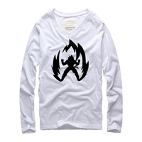 Autumn 2016 Super Saiyan Printed Design Men S T Shirt Japanese Anime Dragon Ball Goku Z